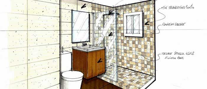 Carrelage salle de bain de luxe