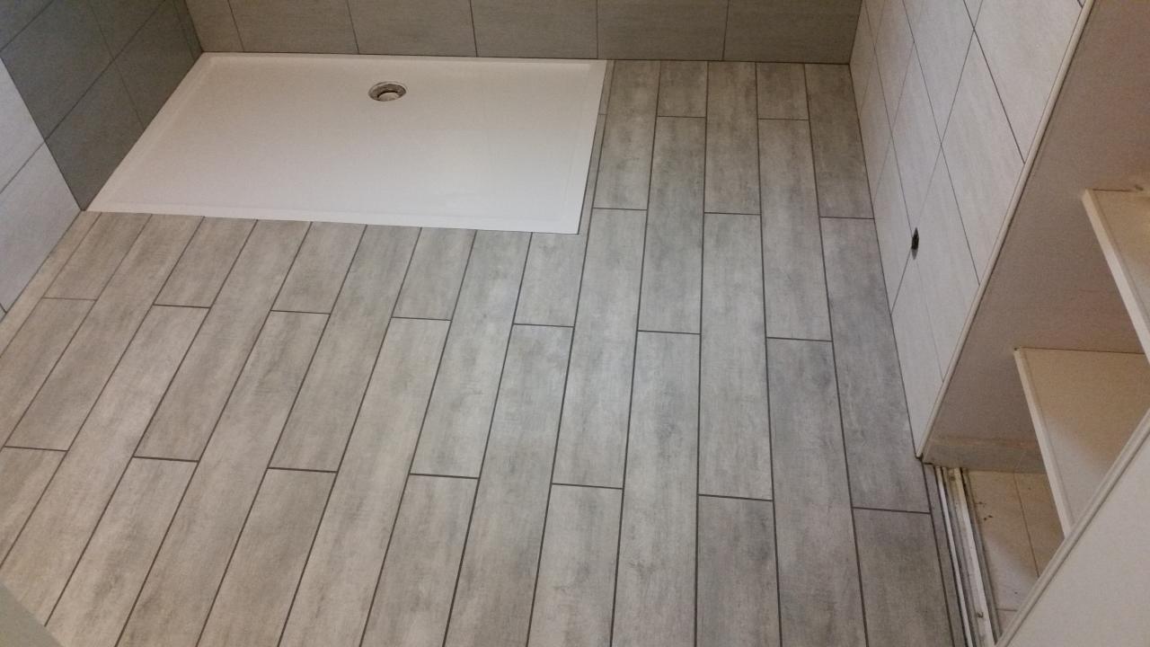 Carrelage salle de bain pose - Idée de maison et déco