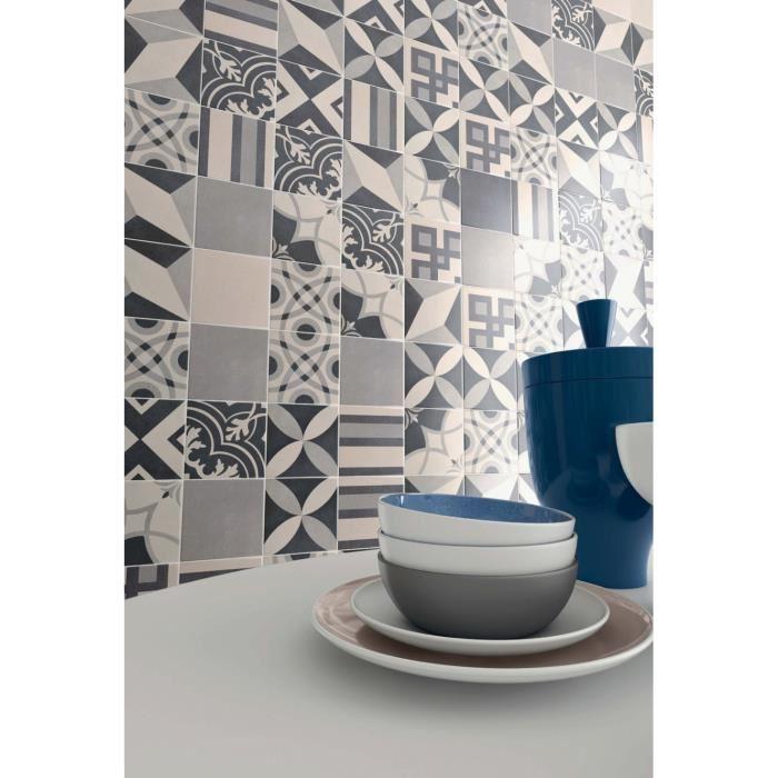 carrelage adhesif carreaux de ciment sol  idée de maison
