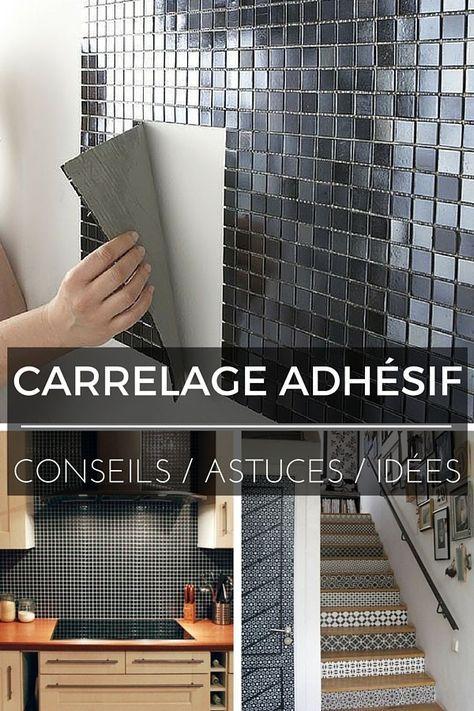 Joint carrelage adhesif