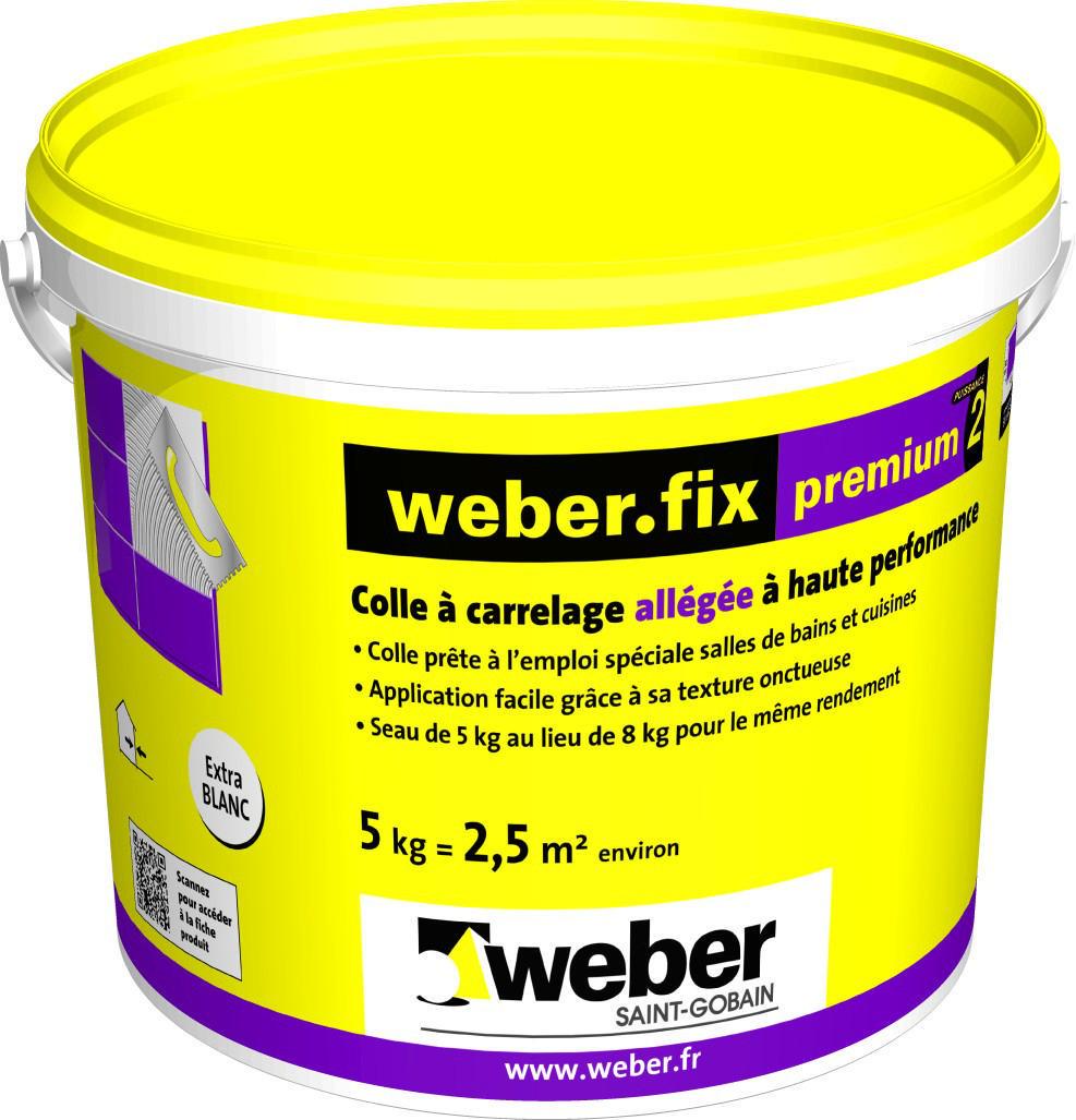 Weber adhésif carrelage hautes performances