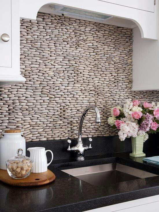 Carrelage cuisine mur moderne