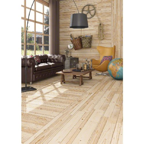 Carrelage imitation parquet salon