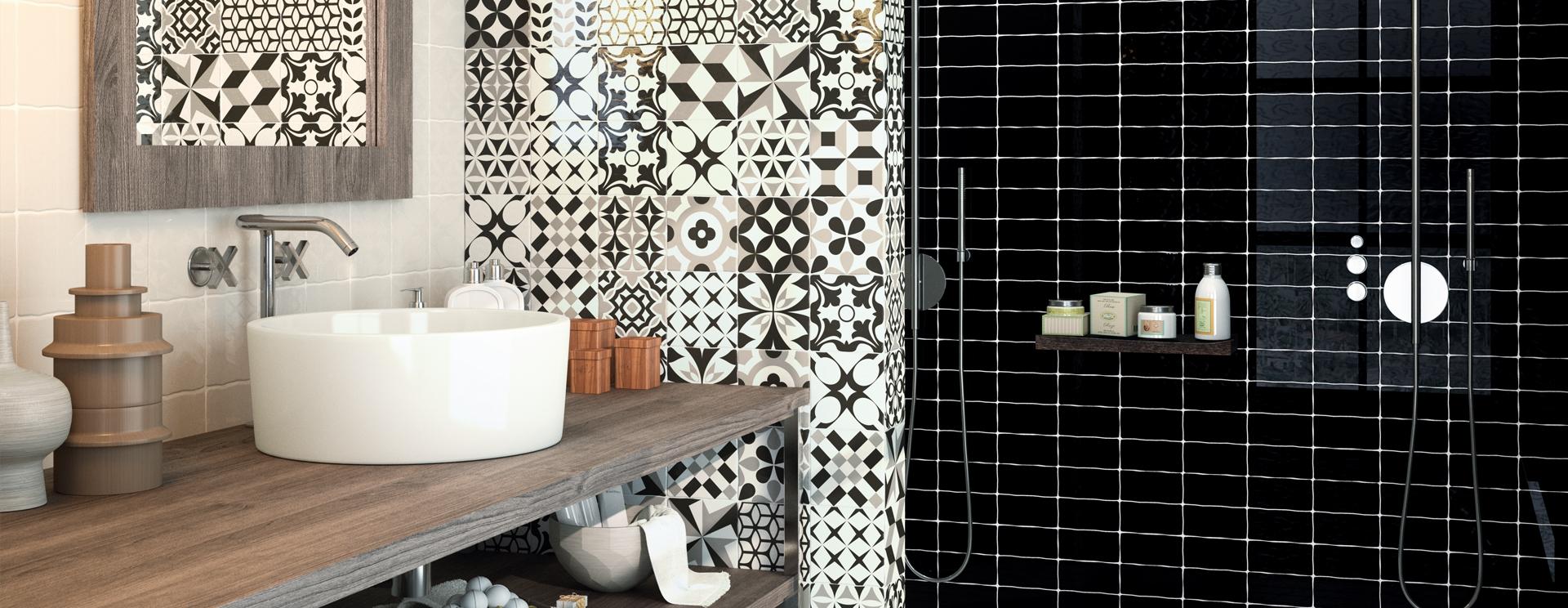 Carrelage salle de bain waterloo