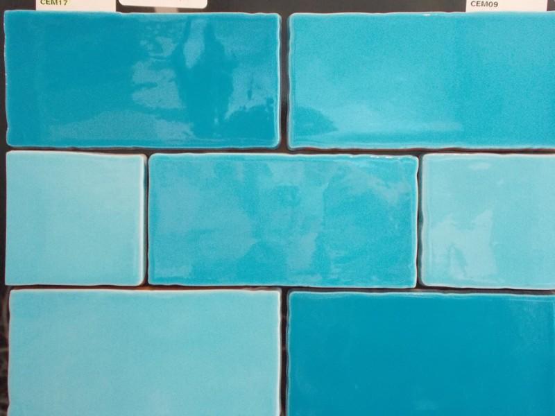 Carrelage turquoise