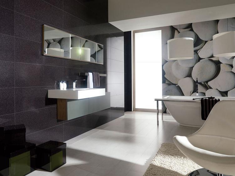 Carrelage salle de bain exemple - Idée de maison et déco