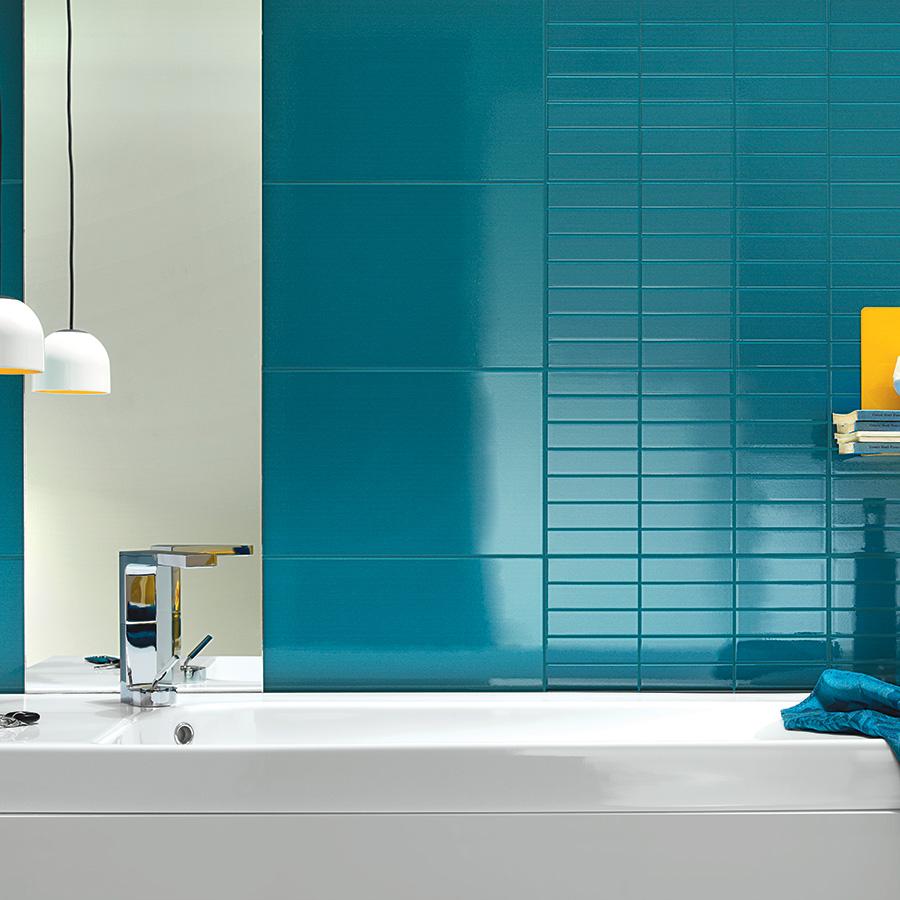 Carrelage salle de bain facile entretien