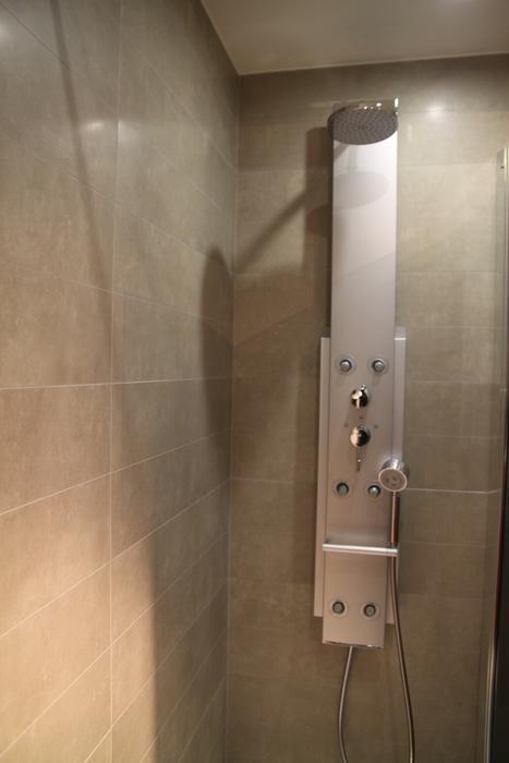 Carrelage salle de bain uni