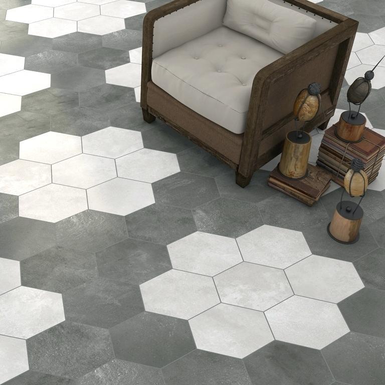 carrelage hexagonal castorama id e de maison et d co. Black Bedroom Furniture Sets. Home Design Ideas