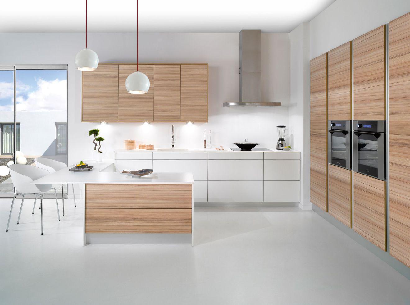 Carrelage cuisine zen id e de maison et d co - Cuisine en bois blanc ...