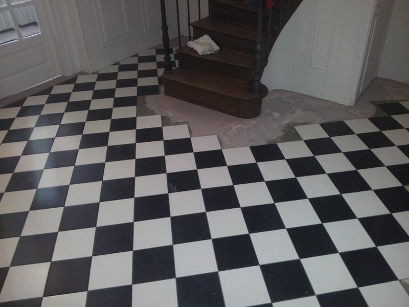 Castorama carrelage sol noir - Idée de maison et déco