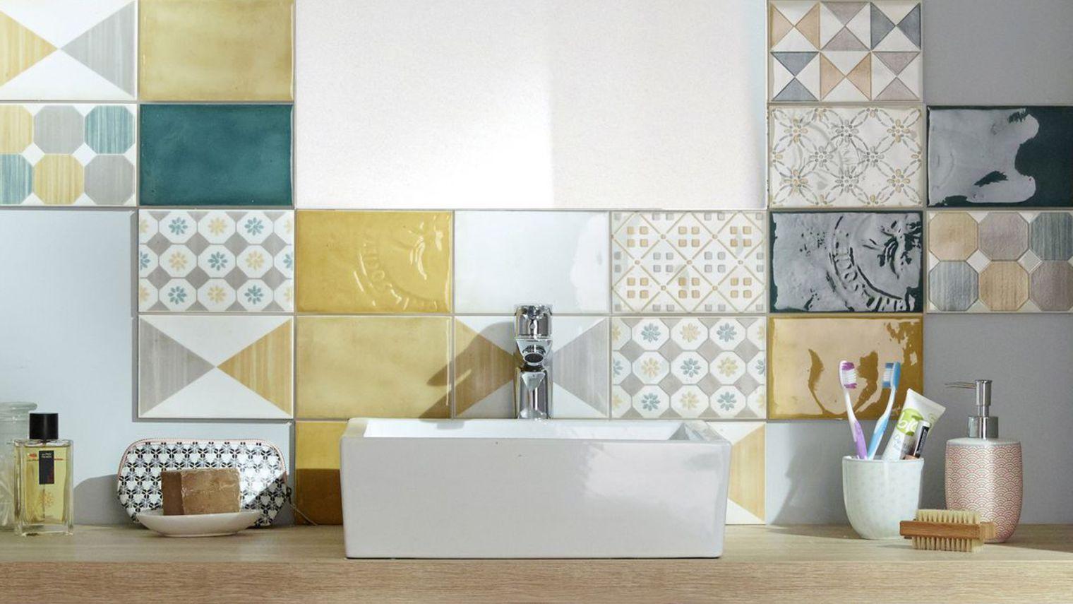 Castorama carrelage mural salle de bain - Idée de maison et déco