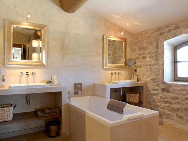 Carrelage salle de bain nature