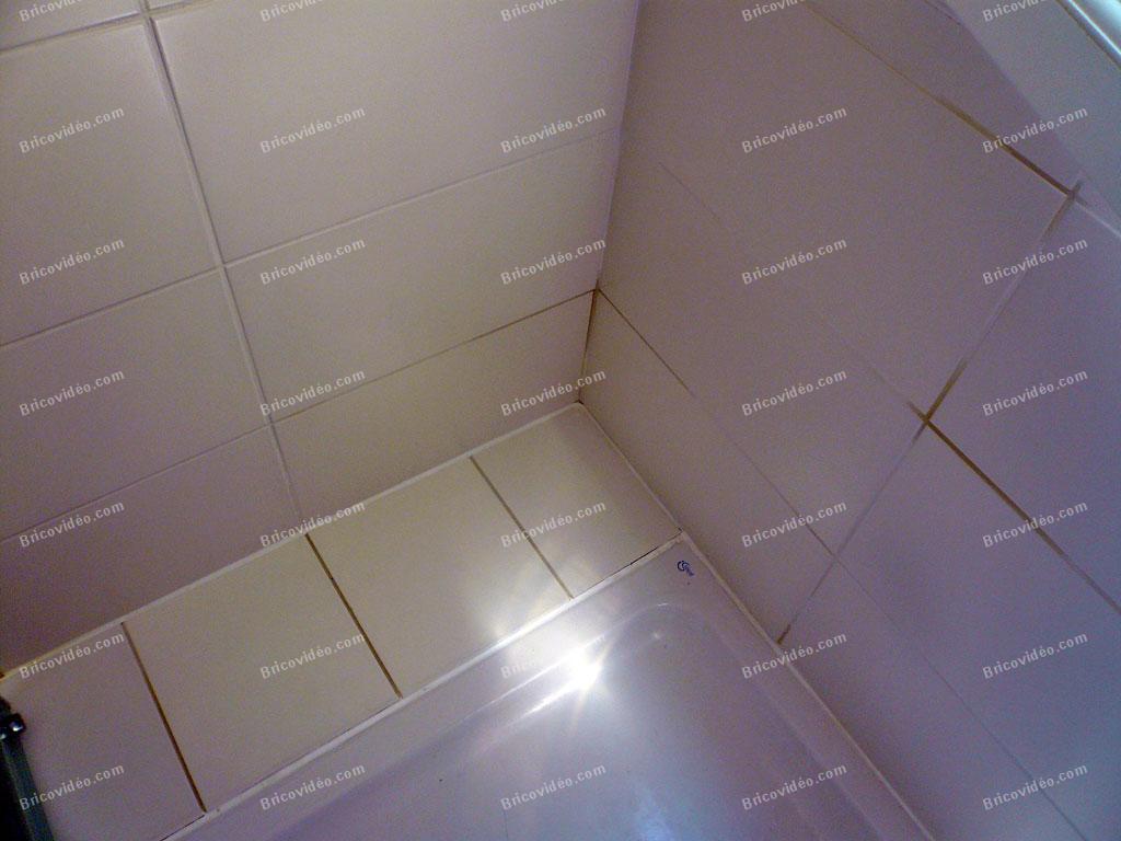 Carrelage salle de bain qui jaunit