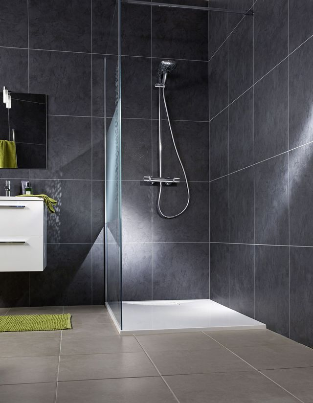 Carrelage salle de bain qui se colle