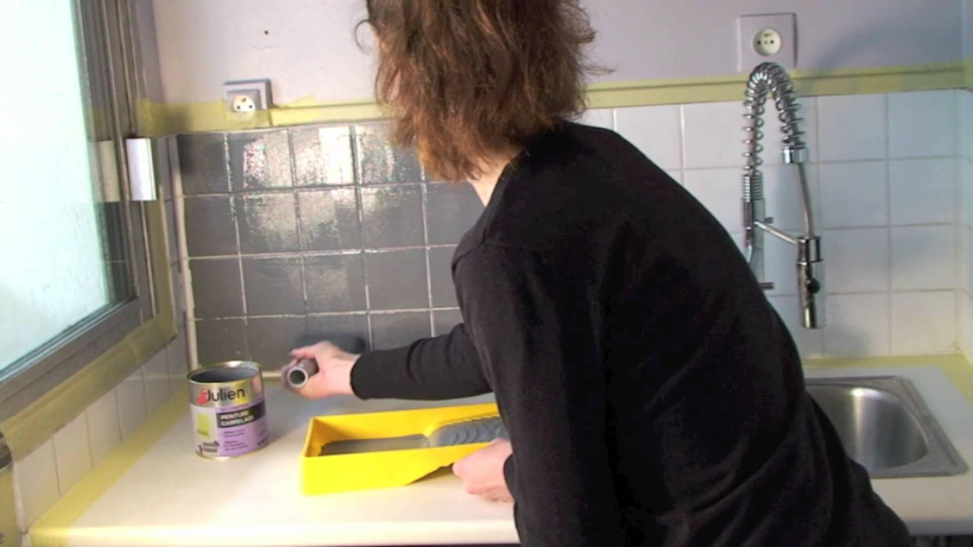 Peinture carrelage salle de bain julien