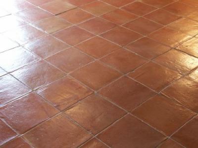 Carrelage exterieur terre cuite 20x20