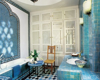Carrelage salle de bain marocain - Idée de maison et déco