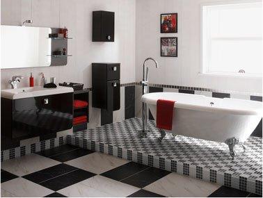 Carrelage salle de bain leroy merlin blanc