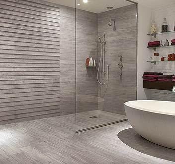 Carrelage effet parquet salle de bain id e de maison et d co for Salle de bain carrelage effet parquet