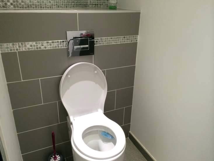 Carrelage wc suspendu - Idée de maison et déco