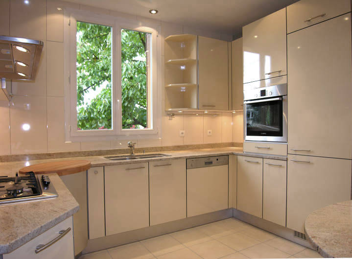 Stunning Cuisine Beige Mur Taupe Gallery - House Design ...