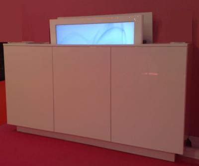 Meuble tv électrique