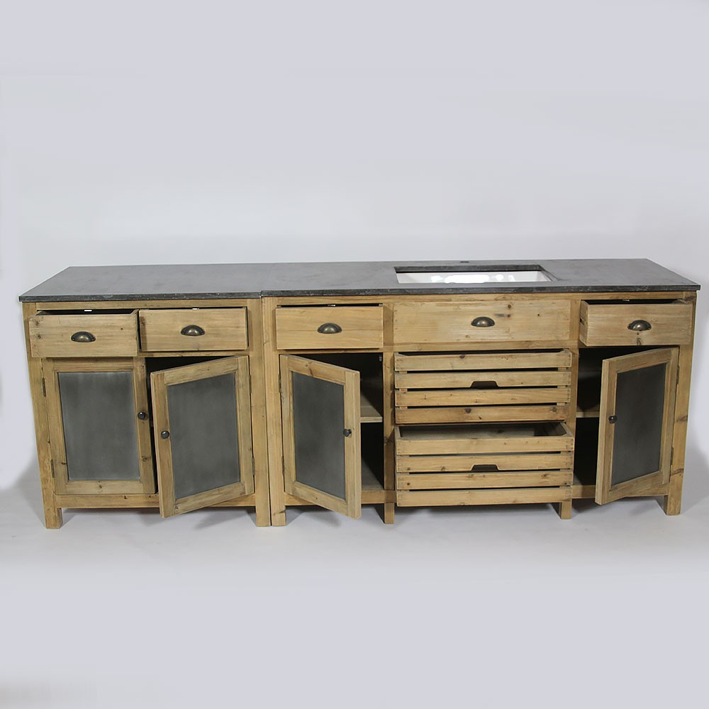 Meuble de cuisine bois