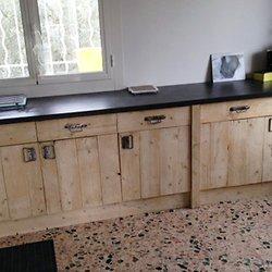 faire un meuble de cuisine en palette