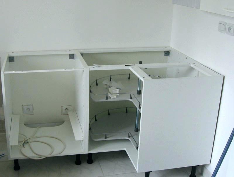 Meuble d 39 angle de cuisine ikea id e de maison et d co - Ikea caisson de cuisine ...