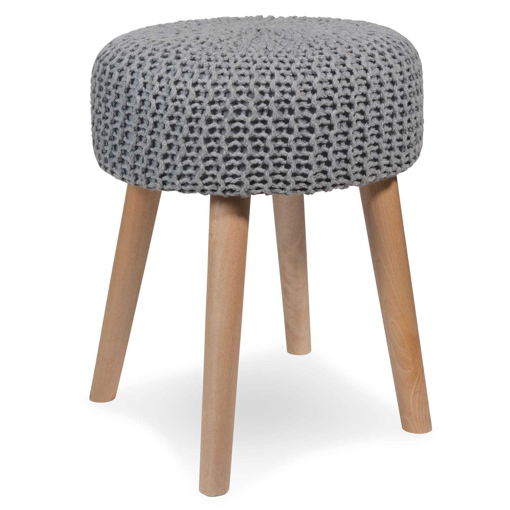 Tabouret tricot