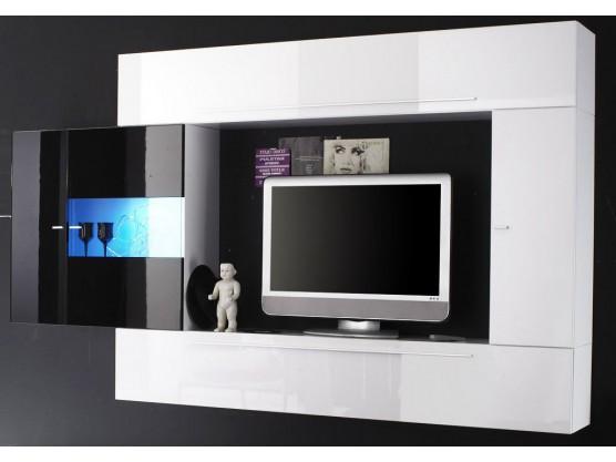 Cdiscount Meuble Tv Noir Et Blanc Idee De Maison Et Deco