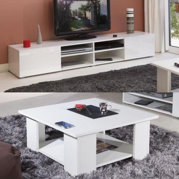 Meuble tv table basse