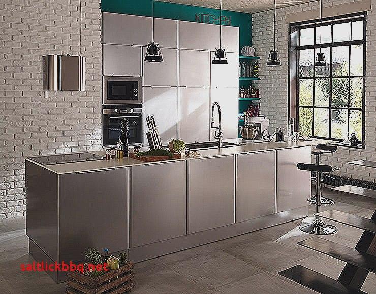 Meuble De Cuisine Inox Idee De Maison Et Deco