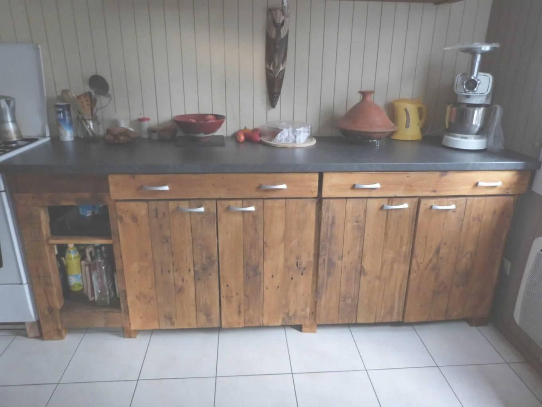 Meuble de cuisine en bois pas cher