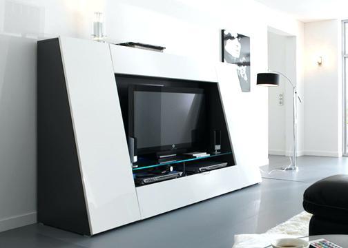 meuble tv qui se ferme id e de maison et d co. Black Bedroom Furniture Sets. Home Design Ideas