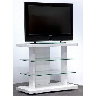 Meuble tele en verre design