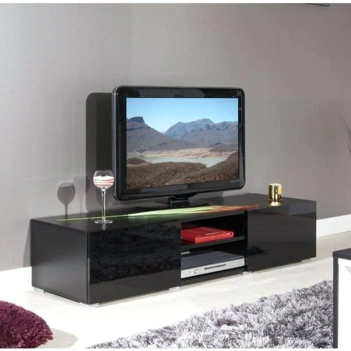 meuble tv noir cdiscount id e de maison et d co. Black Bedroom Furniture Sets. Home Design Ideas