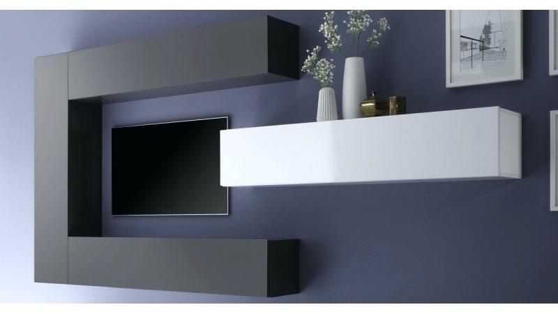 meuble tv suspendu ikea id e de maison et d co. Black Bedroom Furniture Sets. Home Design Ideas