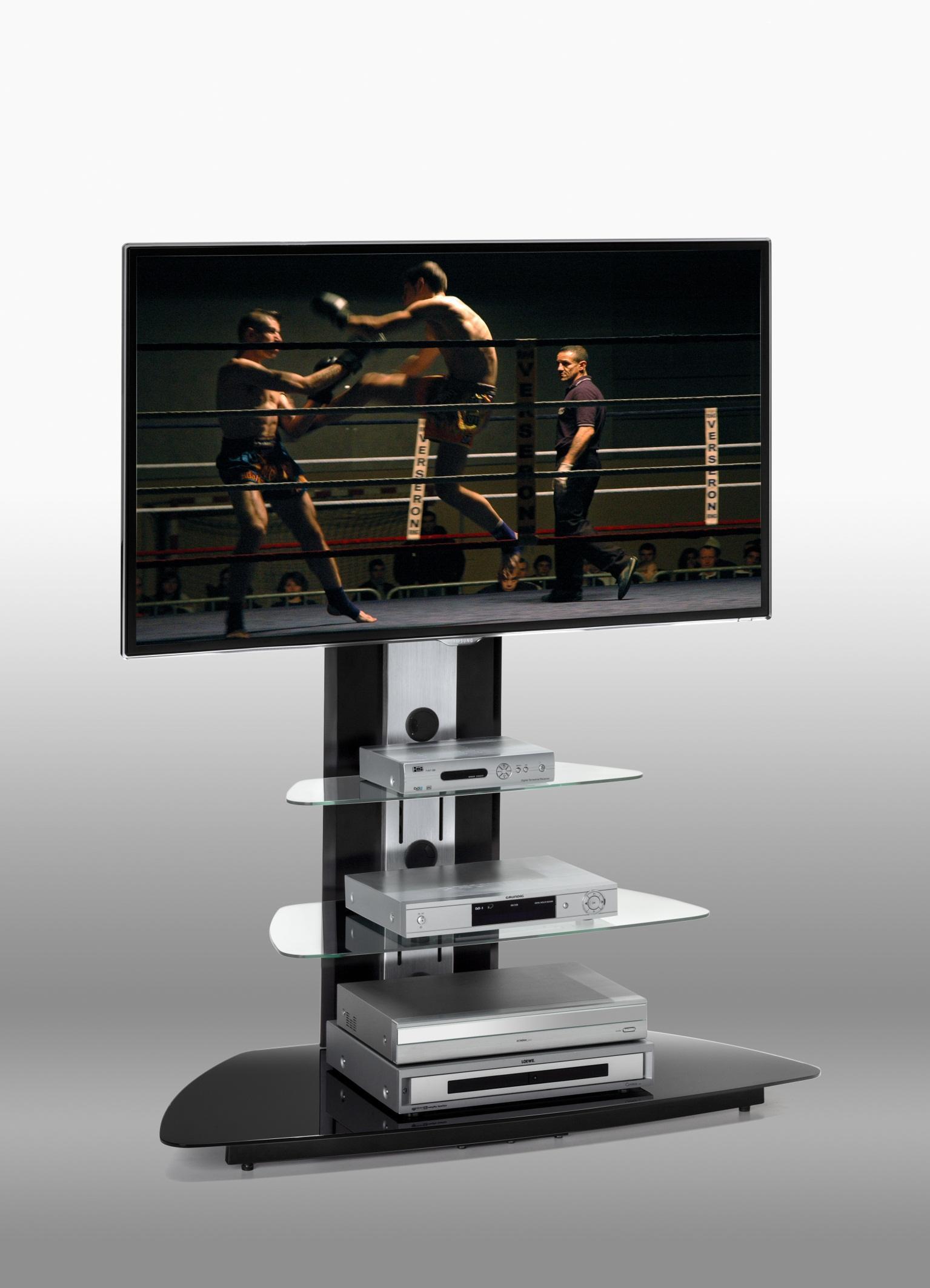 Meuble tv en verre design