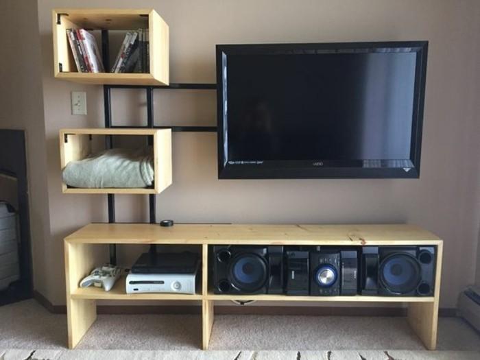 Fabriquer Un Meuble Tv En Mdf Id 233 E De Maison Et D 233 Co