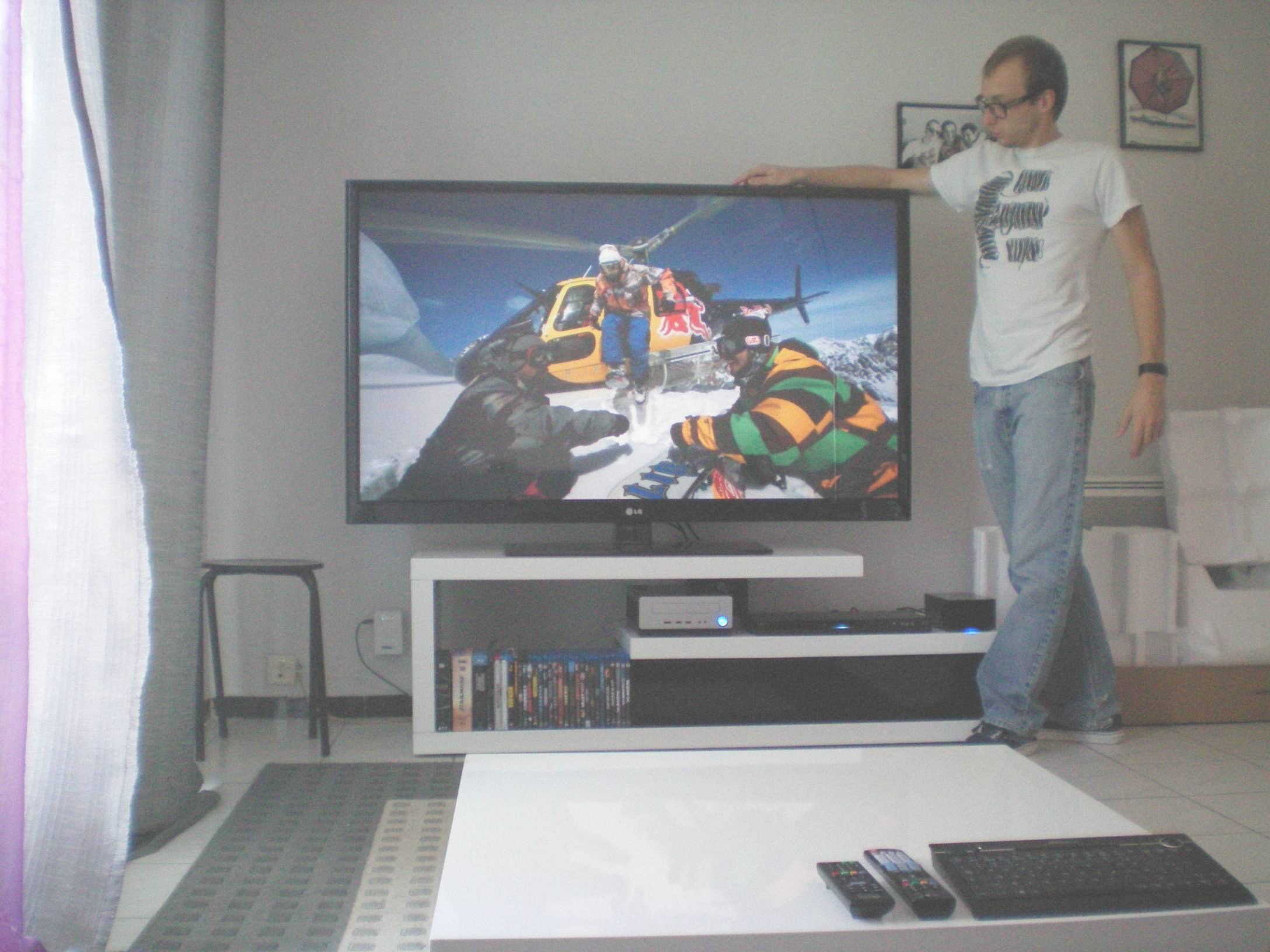 Meuble tv 55 pouces