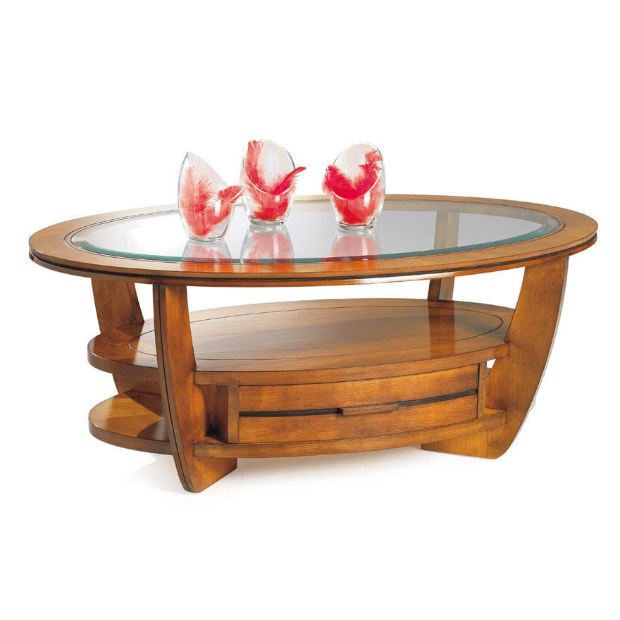 Table basse ronde olympe