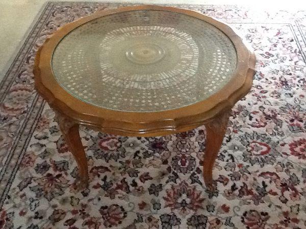 Table basse ronde monsieur meuble