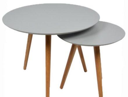 Table basse ronde petite