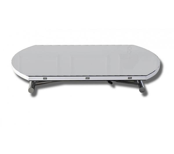 Table basse ronde extensible