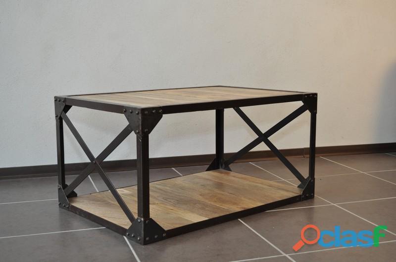 Table Basse Industrielle Pas Cher