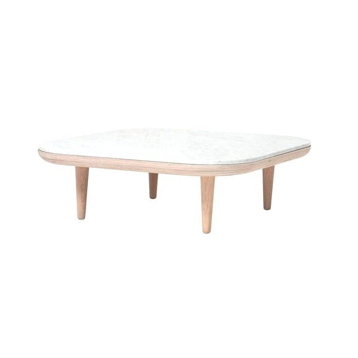 Table basse ronde verre fly
