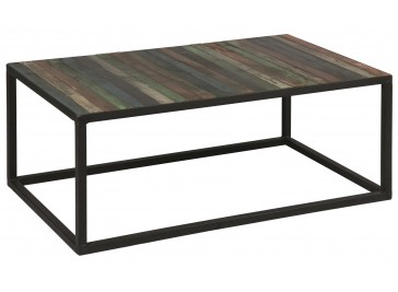Table basse industrielle pas chere