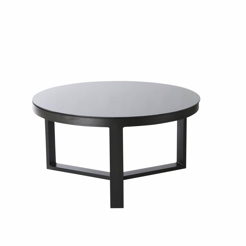 Table basse verre jardin